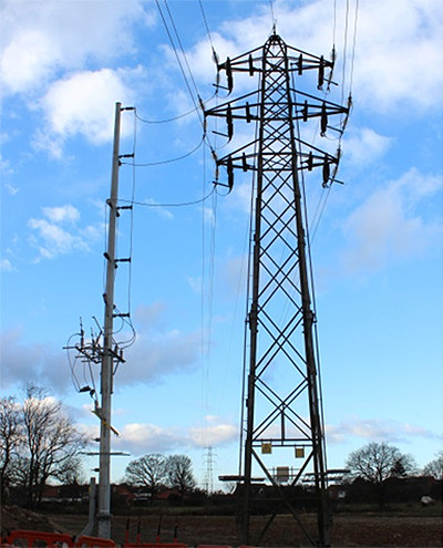 St Osyth 33kV OHL Connection UK Distribution Network Operator