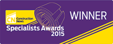 Construction News Specialist Awards 2015 Winner